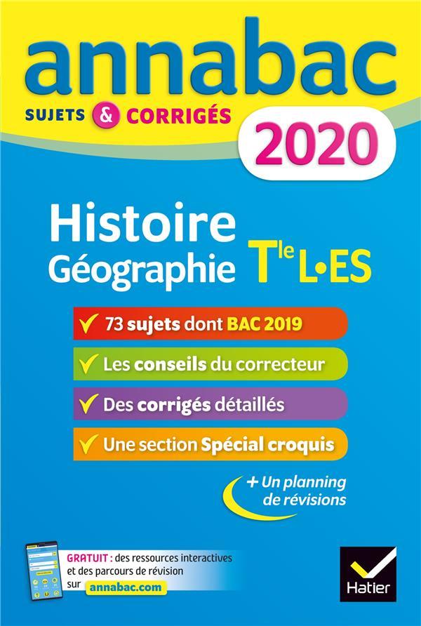 Annabac ; histoire géographie ; sujets et corrigés