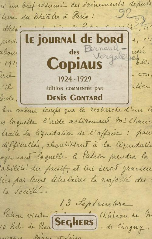 Le journal de bord des Copiaus