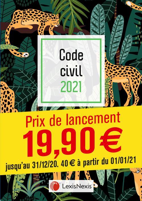 Code civil ; jungle (édition 2021)