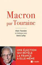 Vente Livre Numérique : Macron par Touraine  - Alain TOURAINE