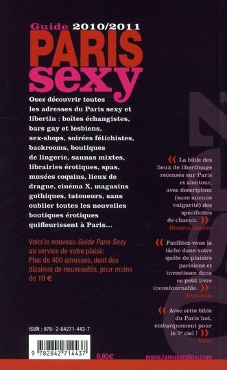 OSEZ ; guide du Paris sexy (édition 2010-2011)