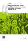 Oecd journal on development t.9 issue 2 ; measuring human rights and democratic governance ; experiences and lessons from Metagora