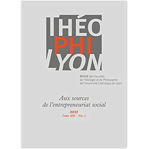 Théophilyon XXII t.1 (édition 2017)