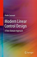 Modern Linear Control Design  - Paolo Caravani