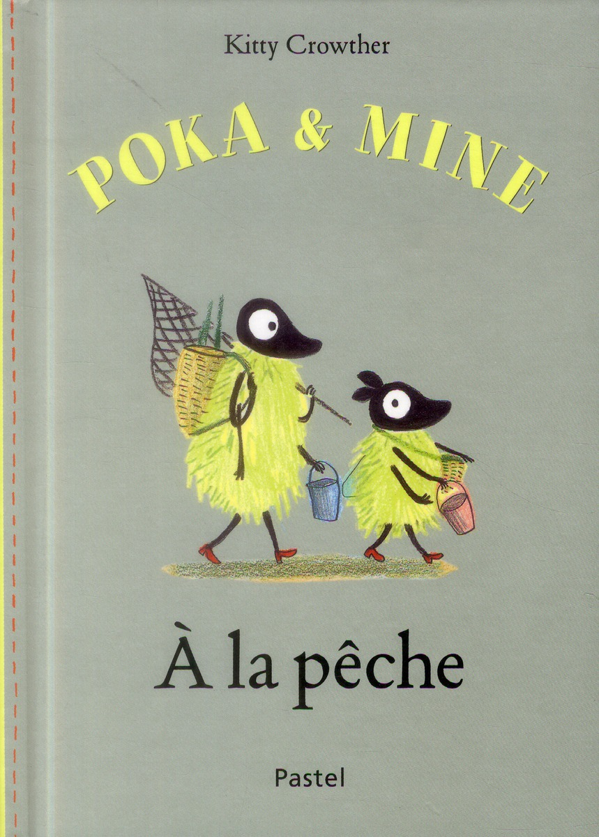 Poka et Mine à la pêche