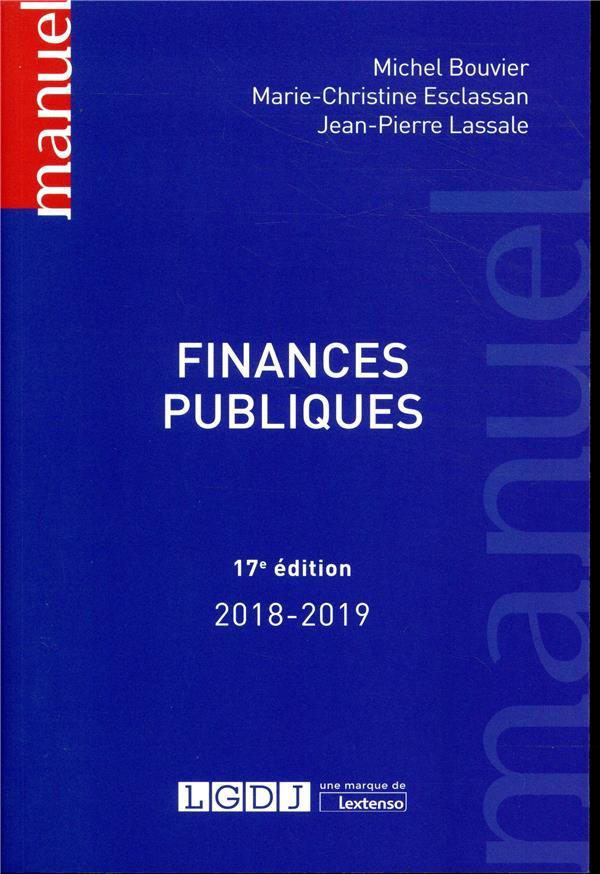 Finances publiques (17e édition)