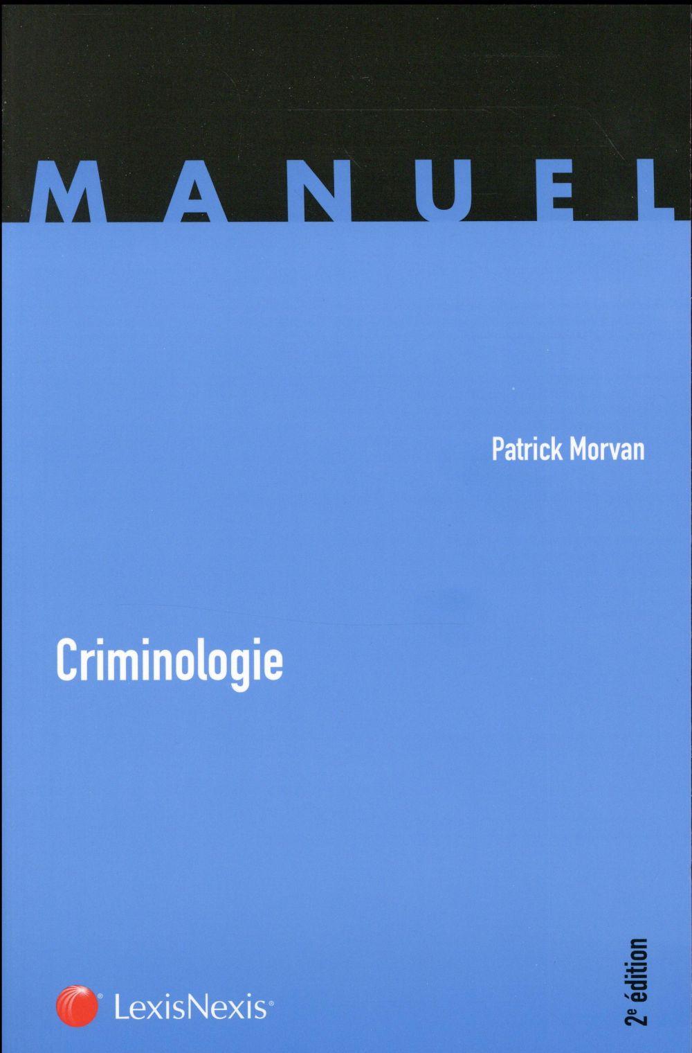 Criminologie (2e édition)