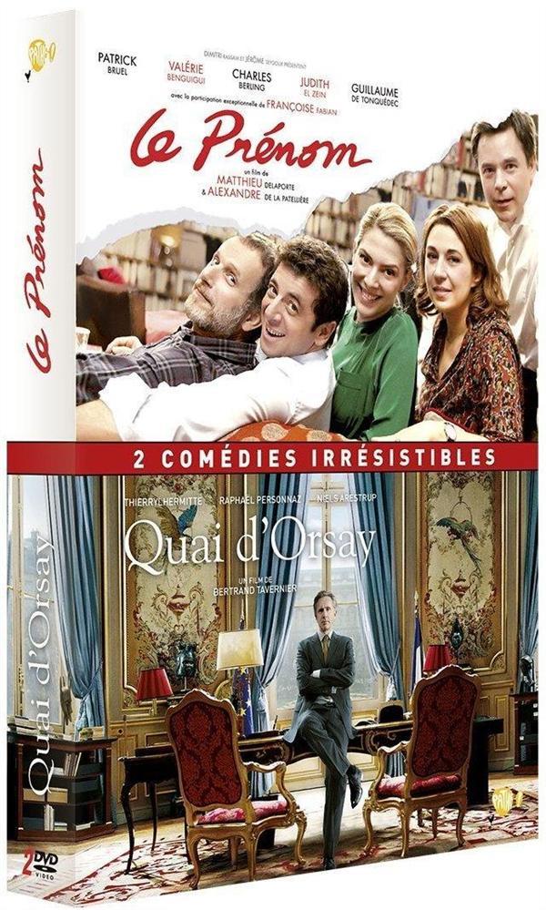 2 comédies irrésistibles : Quai d'Orsay + Le Prénom