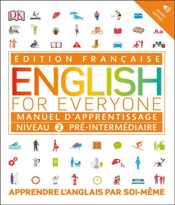 English for everyone ; manuel d'apprentissage : niveau 2 pré-intermédiaire