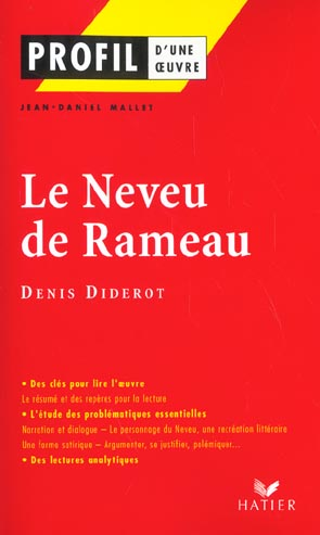 Le neveu de Rameau de Denis Didérot