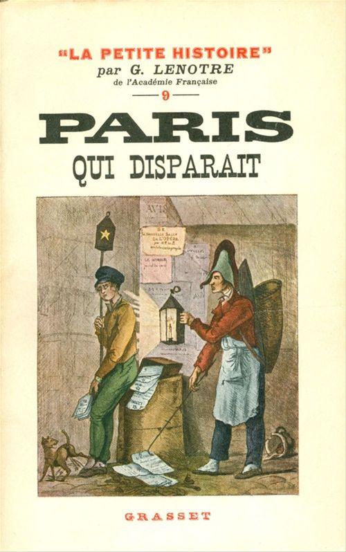 Paris qui disparaît