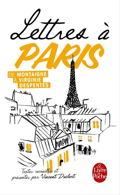 Lettres à Paris