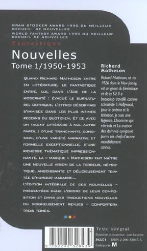 nouvelles - vol01 - l'integrale -1950-1953