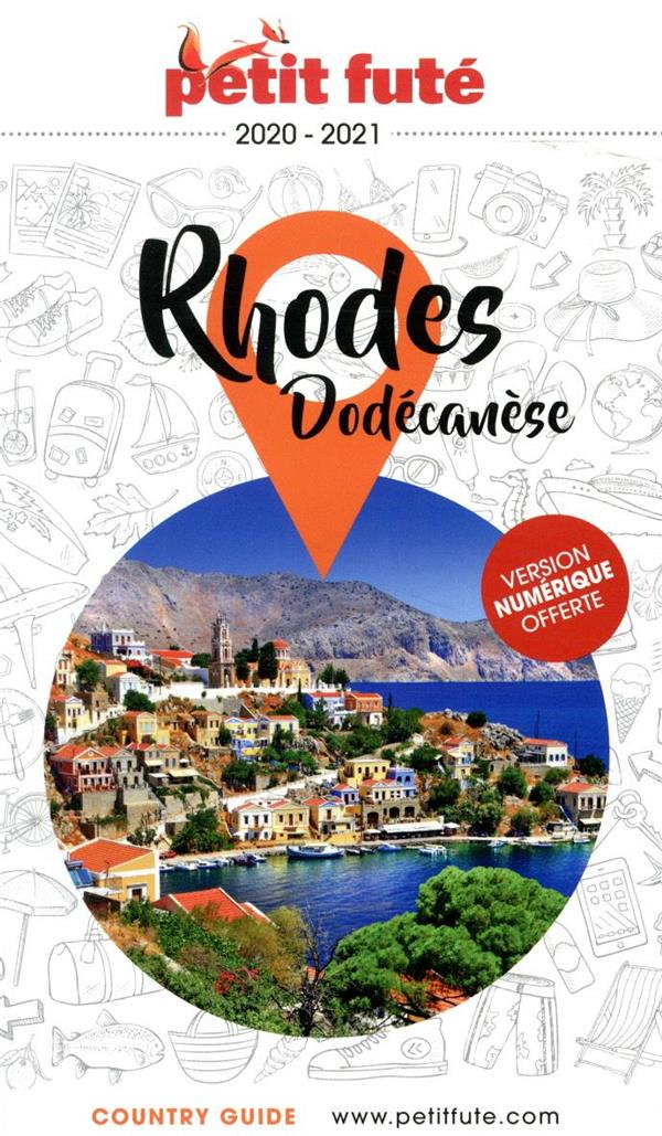 GUIDE PETIT FUTE ; COUNTRY GUIDE ; Rhodes, Dodecanese (édition 2020)