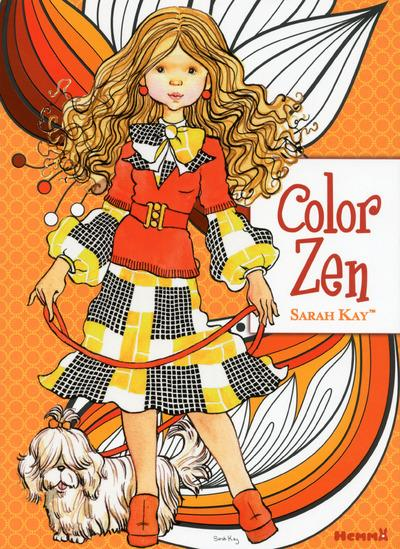 COLOR ZEN ; Sarah Kay ; orange
