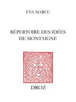 Répertoire des idées de Montaigne