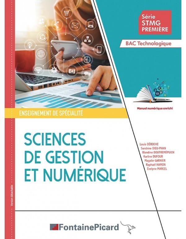 Sciences de gestion et numérique ; 1re STMG ; livre de l'élève