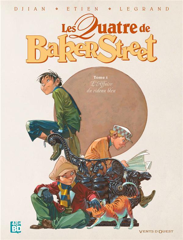 Les quatre de Baker Street T.1 ; l'affaire du rideau bleu
