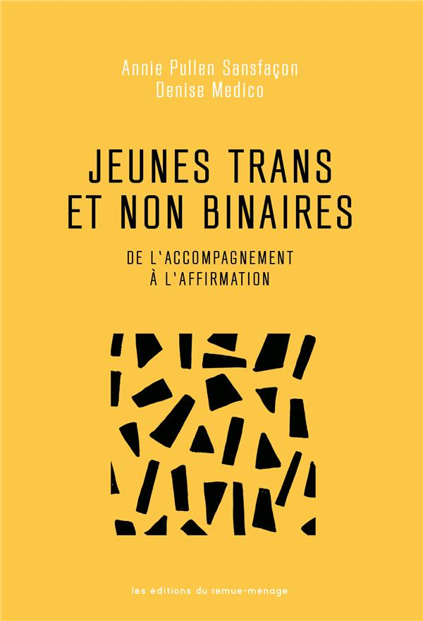 jeunes trans et non binaires : de l'accompagnement à l'affirmation