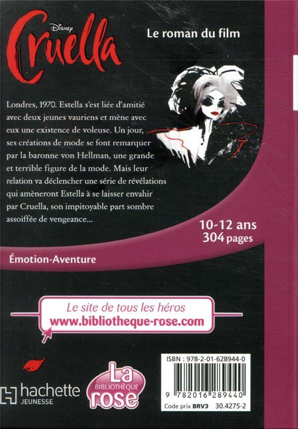 Cruella, le roman du film