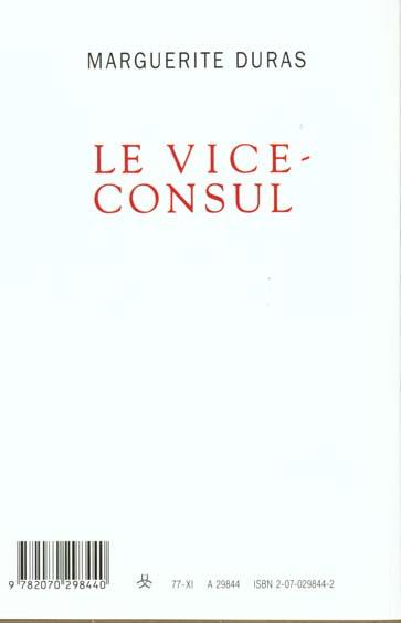 Le vice-consul