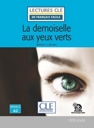 FLE ; la demoiselle aux yeux verts ; niveau A2 (édition 2020)
