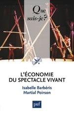 Vente EBooks : L'économie du spectacle vivant  - Isabelle Barbéris - Martial Poirson