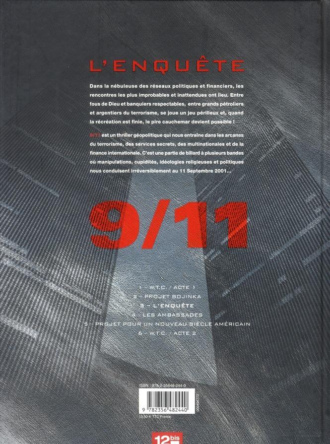 9/11 t.3 ; l'enquête