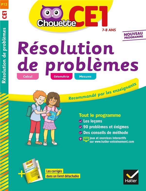 Chouette ; résolution de problèmes ; CE1