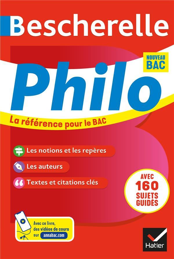 Bescherelle ; philosophie ; terminale (édition 2020/2021)