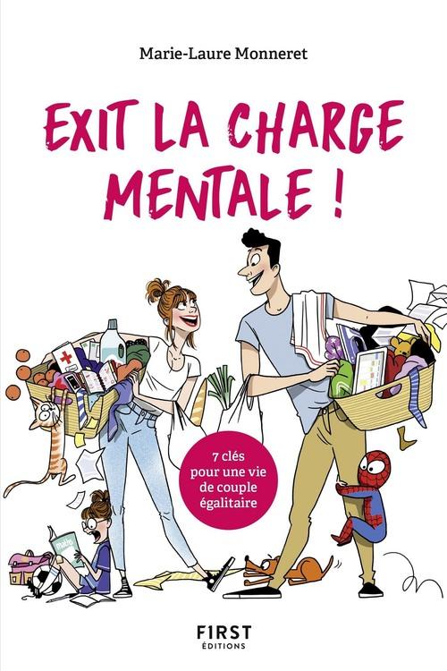 Exit la charge mentale ! 7 clés pour une vie de couple égalitaire  - Marie-Laure MONNERET  - Marion McGuinness