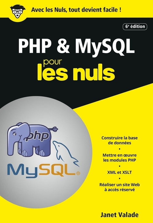 PHP et MySQL poche pour les nuls (6e édition)