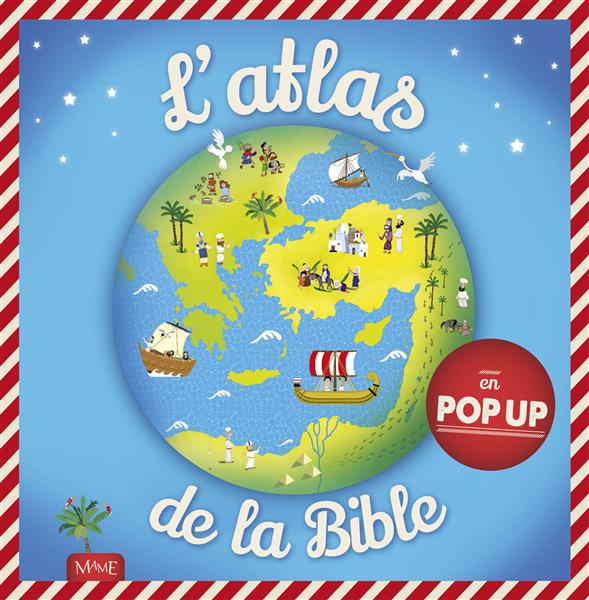 L'atlas de la bible en pop up