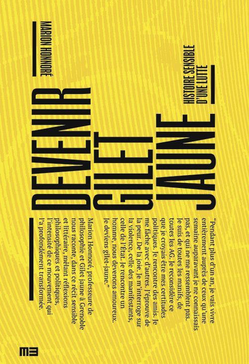 Couverture de Devenir gilet jaune : histoire sensible d'une lutte