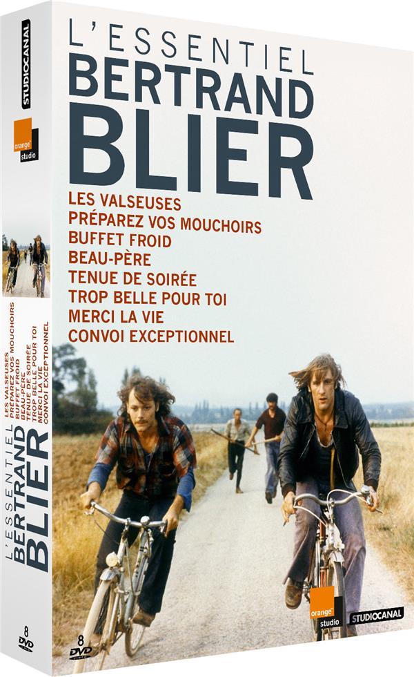 L'Essentiel Bertrand Blier : Les Valseuses + Préparez vos mouchoirs + Buffet froid + Beau-père + Tenue de soirée + Trop belle pour toi + Merci la vie + Convoi exceptionnel