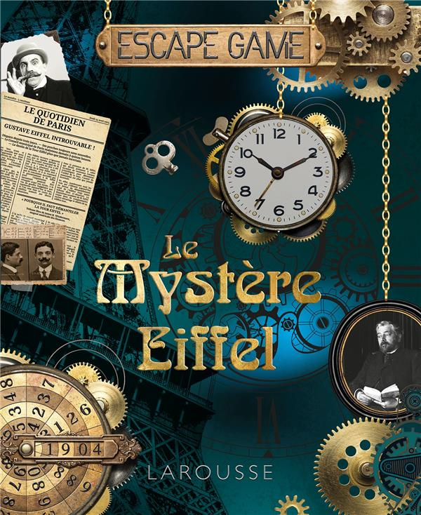 Le mystère Eiffel ; escape game