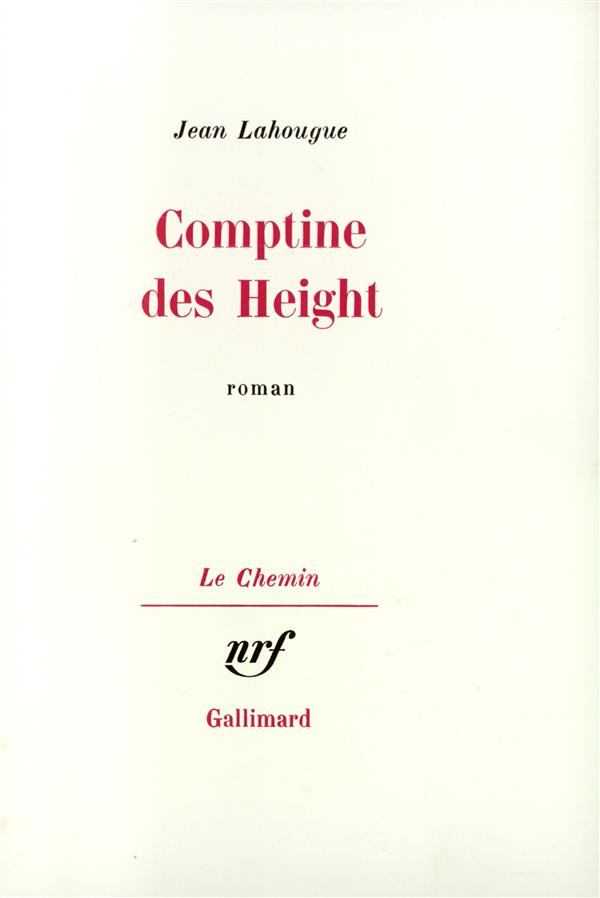 Comptine des height