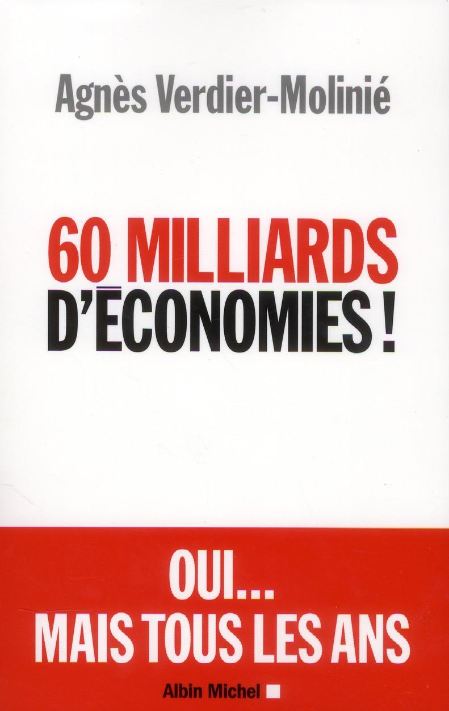 60 Milliards D'Economies !