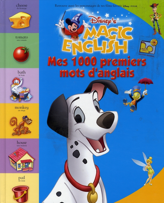 Mes 1000 premiers mots d'anglais ; magic english