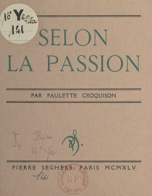 Selon la Passion