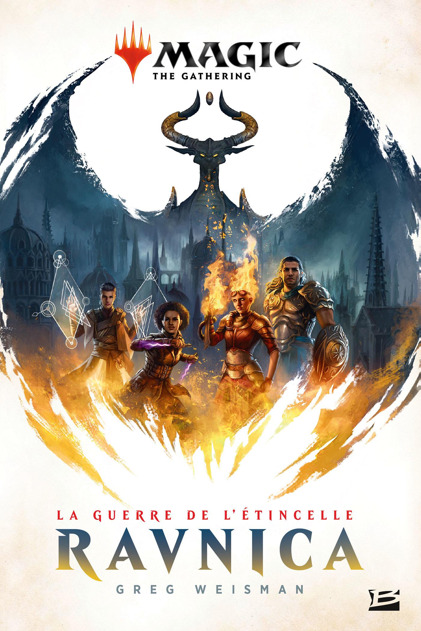 Magic : the gathering ; la guerre de l'étincelle T.1 ; ravnica