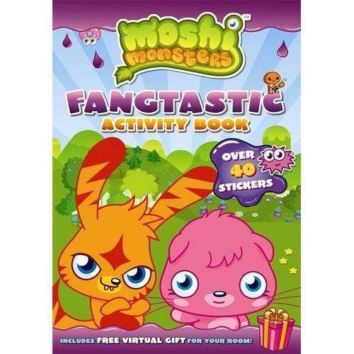 Moshi monsters ; fangtastic activity book