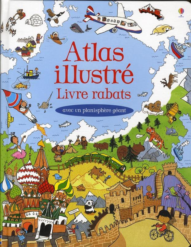 Atlas Illustre Livre Rabats