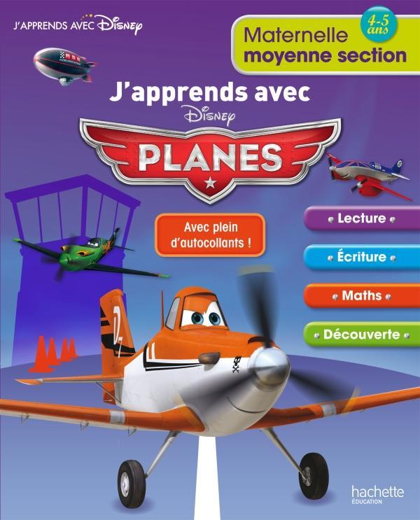 J'apprends avec Planes ; moyenne section