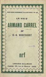 La vie d'Armand Carrel
