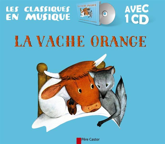 La vache orange