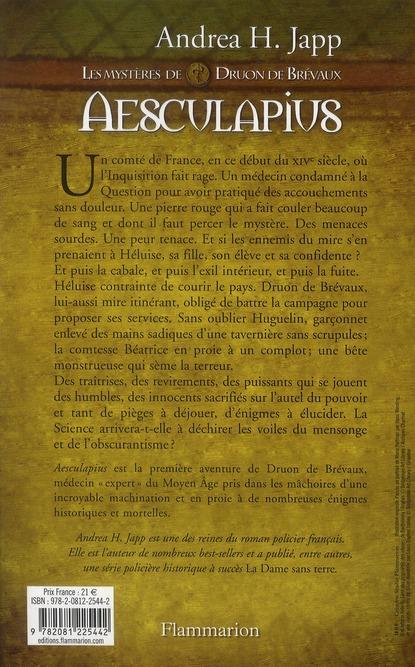 Aesculapius ; les mystères de Druon de Brévaux
