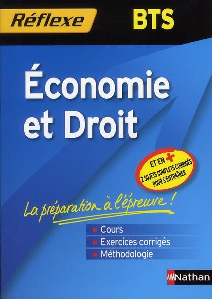 Reflexe Bts T.6; Economie Et Droit