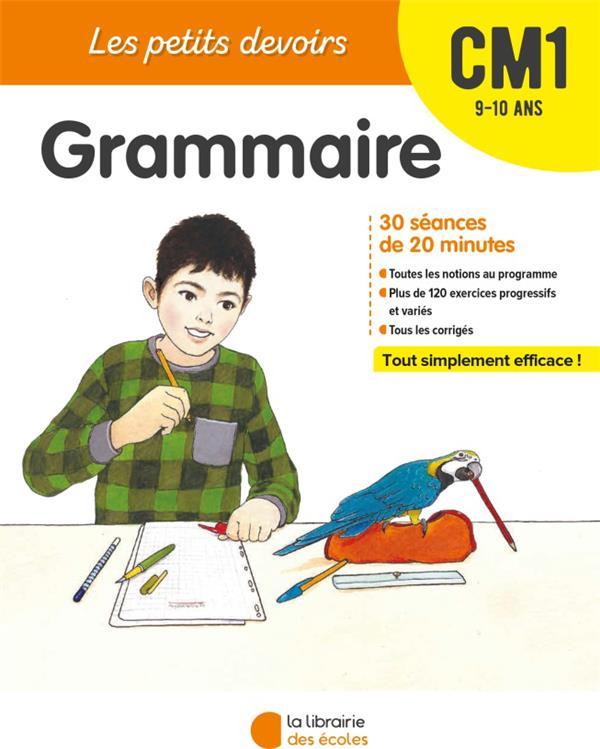les petits devoirs ; grammaire ; CM1