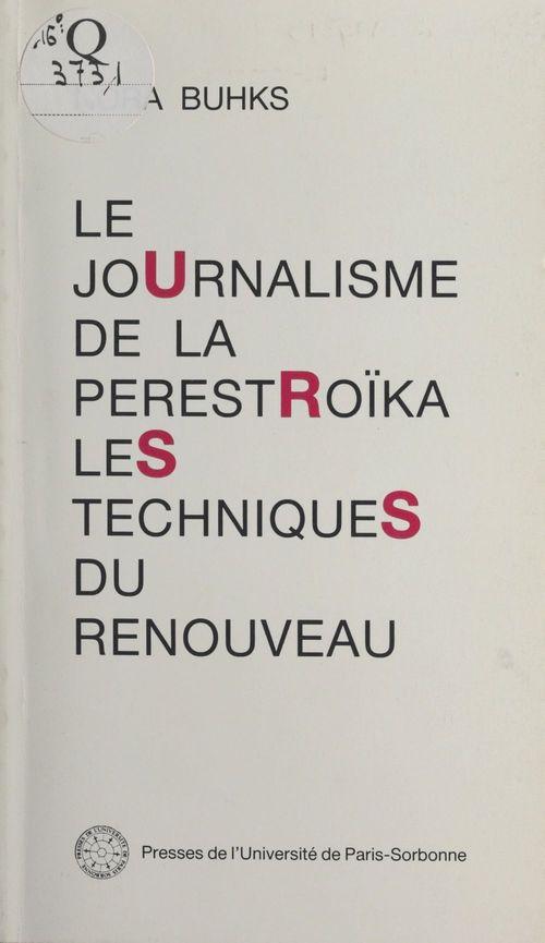 Le journalisme de la perestroi